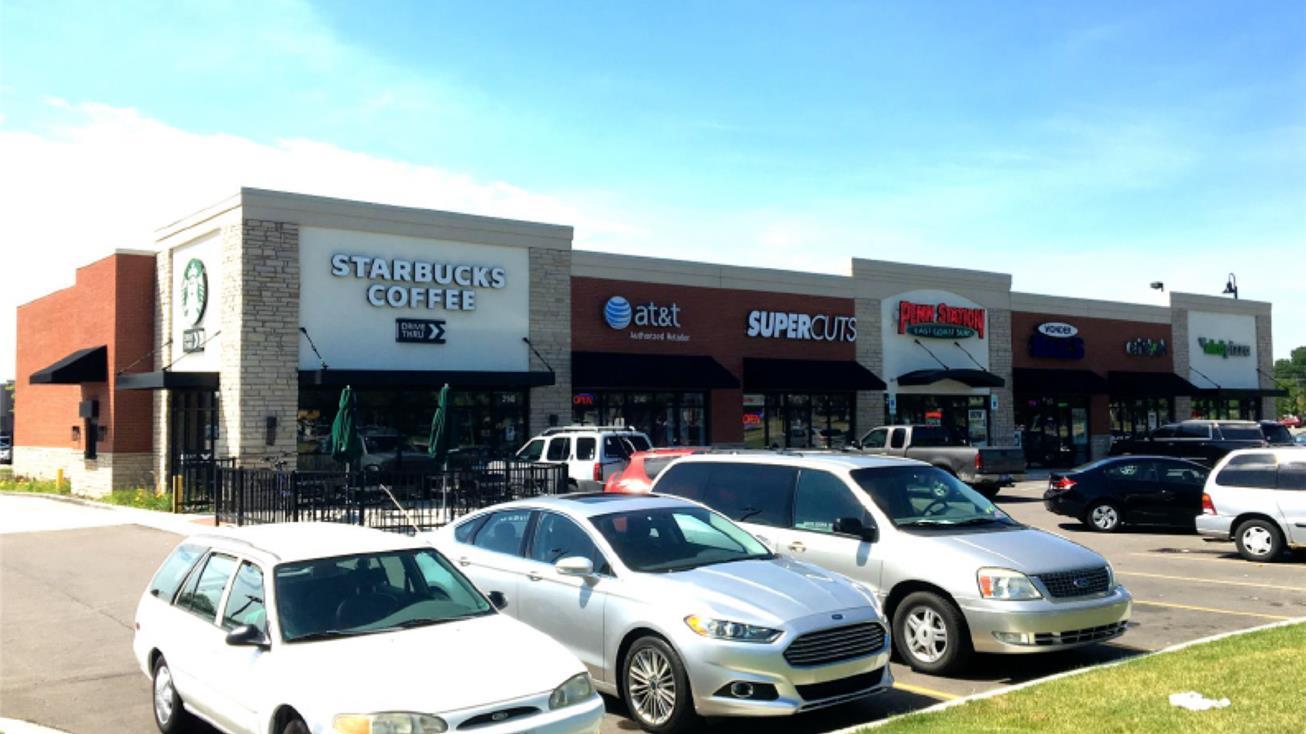 starbucks retail center encore real estate investment services